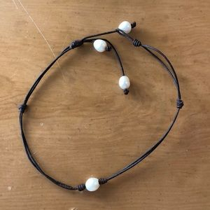 Pearl Adjustable Choker